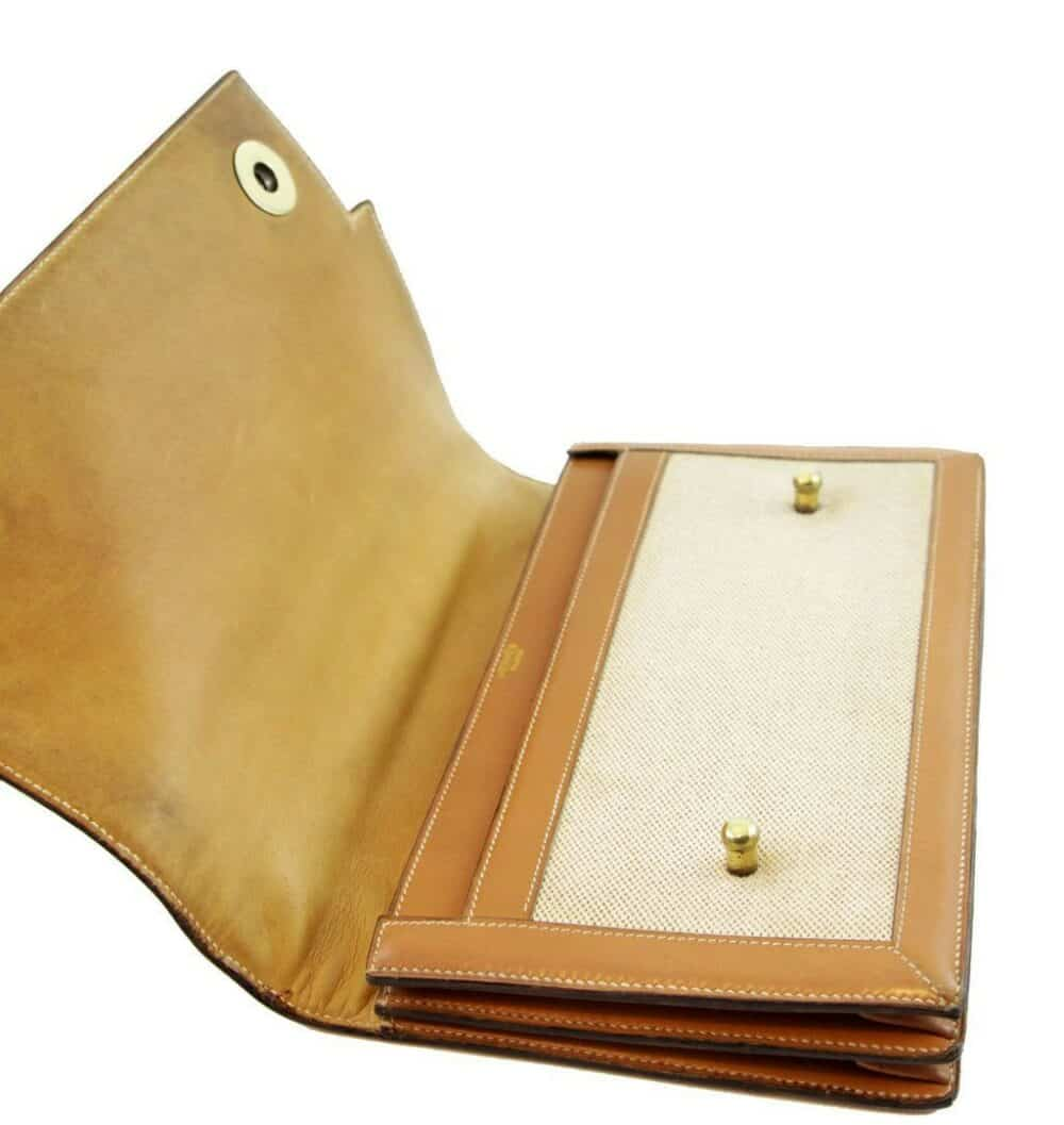 Reserved - Rare Hermès Vintage Piano Model with shoulder strap 60s