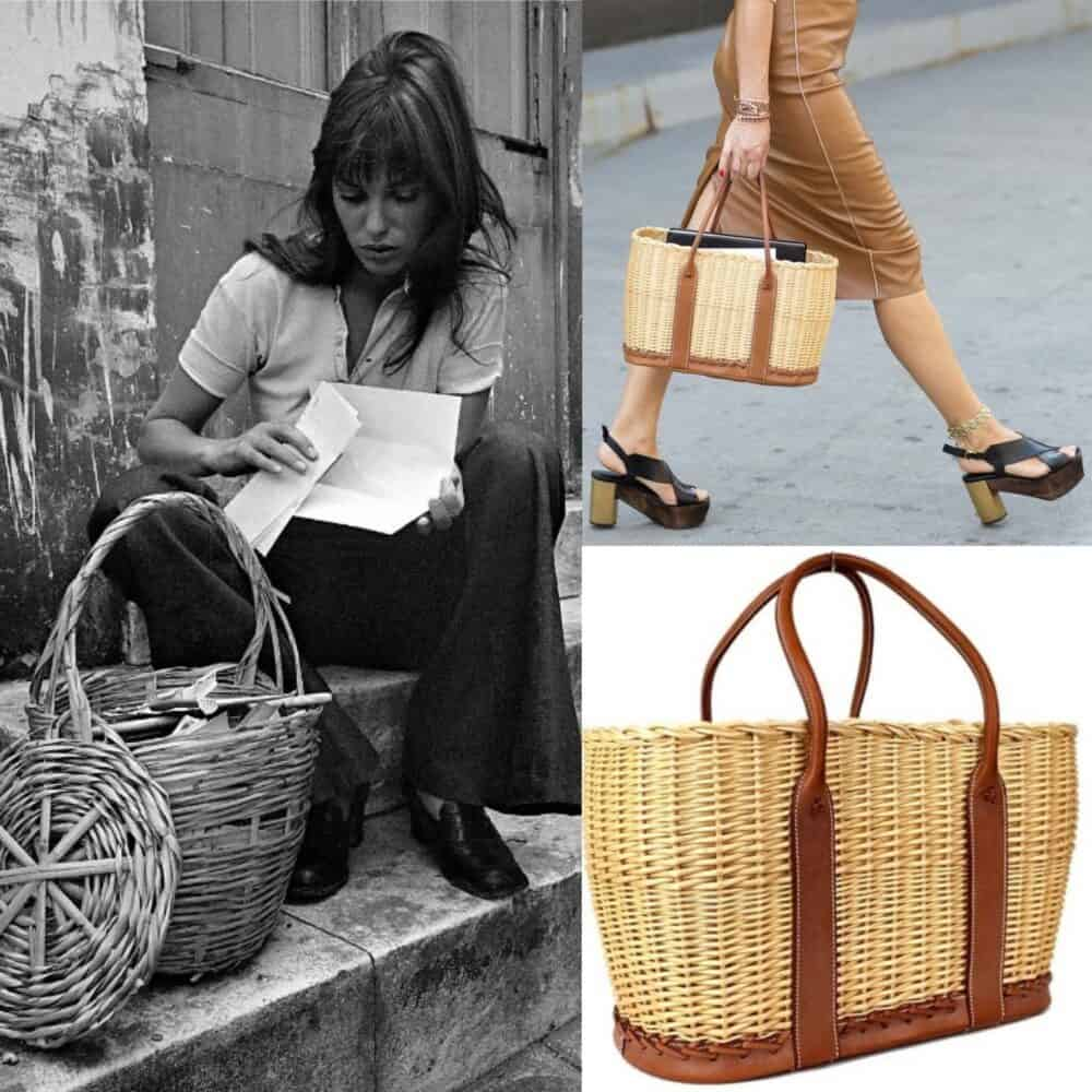 Reserved The Garden Party Hermes Wicker basket bag Ltd