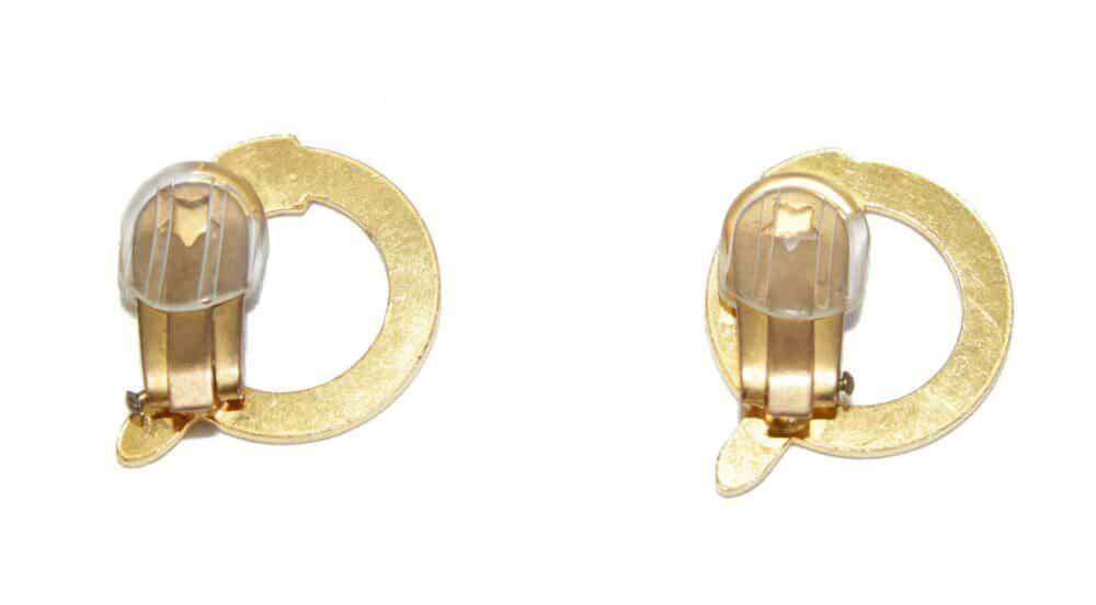 Rare Roberta di Camerino belt vintage earrings 70s