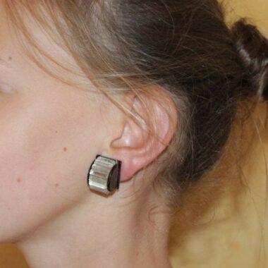 Rare Pierre Cardin 70s vintage earrings