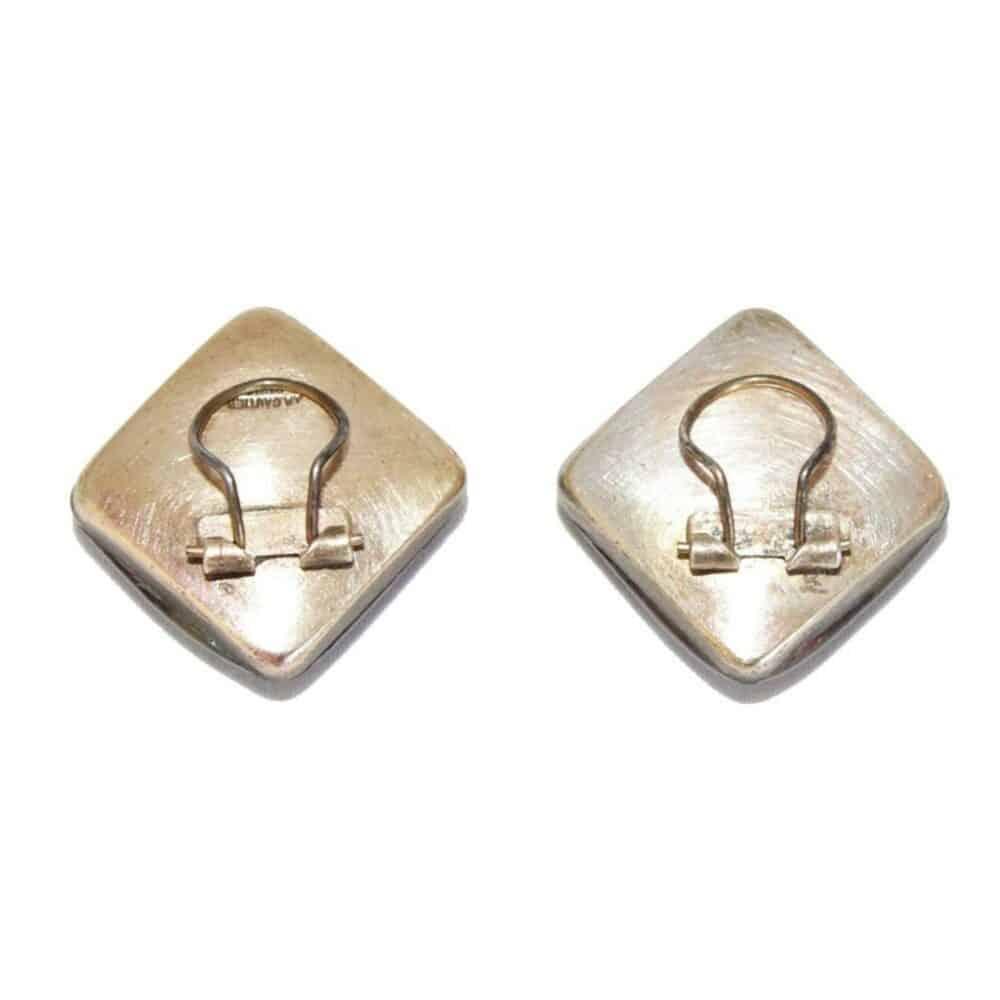 Jacques Gautier Funny yellow dots earrings c.1960