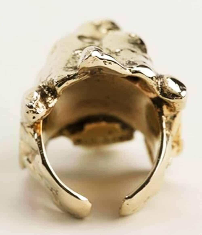 Les Paruriers Unique Huge Lion Ring