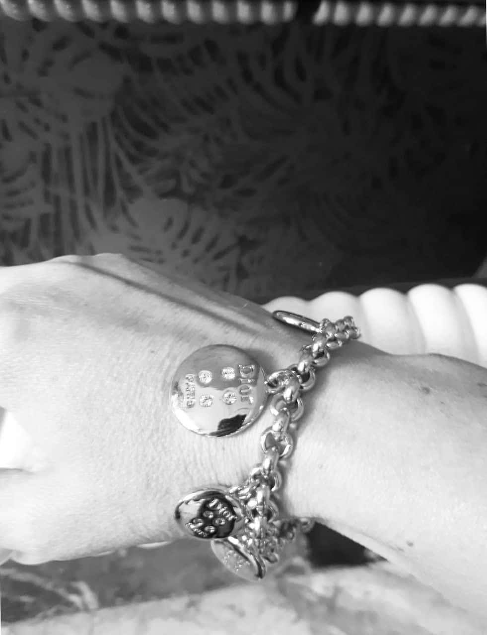 Christian Dior Buttons Vintage Collector Bracelet Catwalk Kate Moss 1999