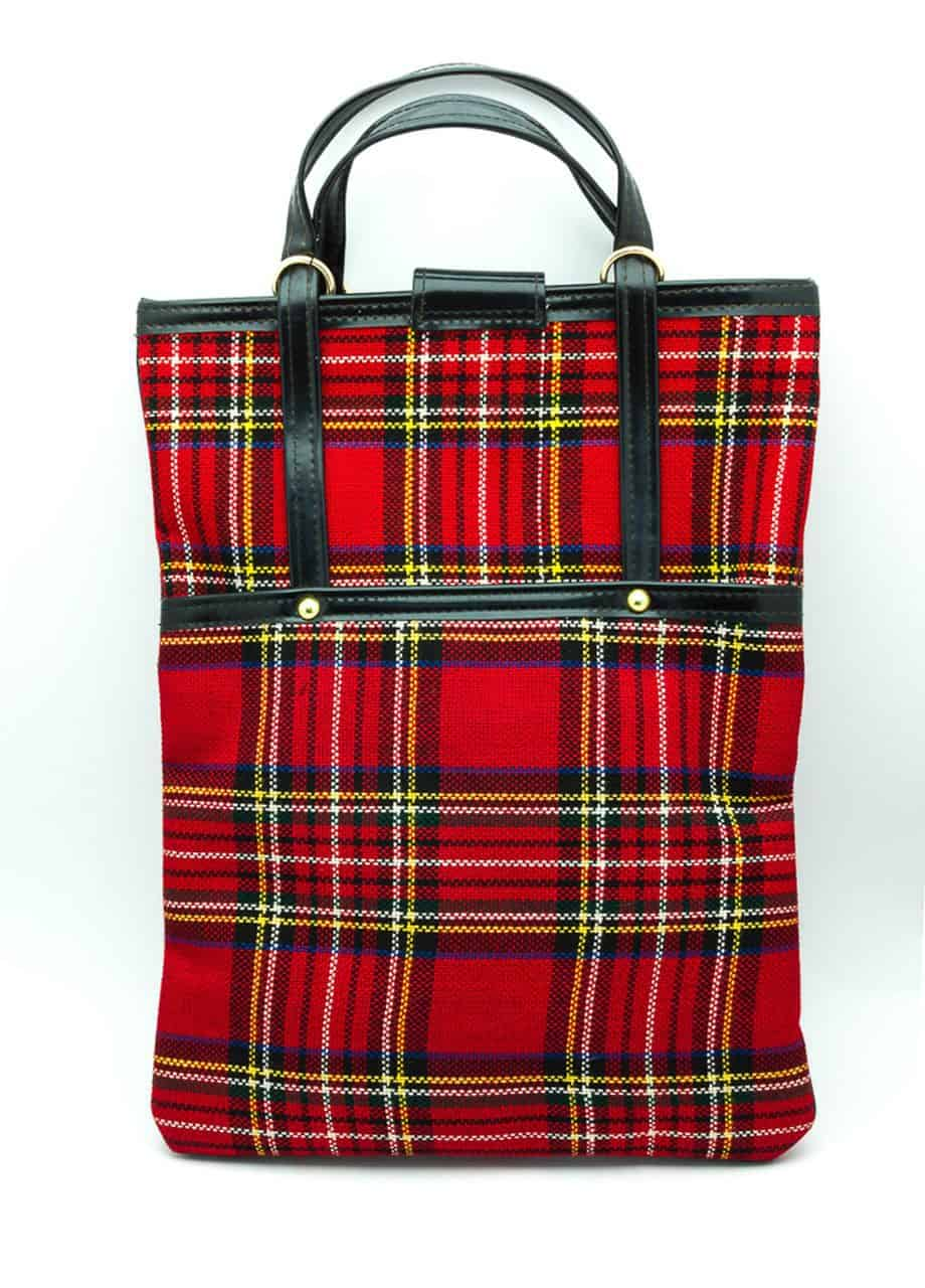 Fashion Trend Unique Scottish Vintage Japan 60s Handbag