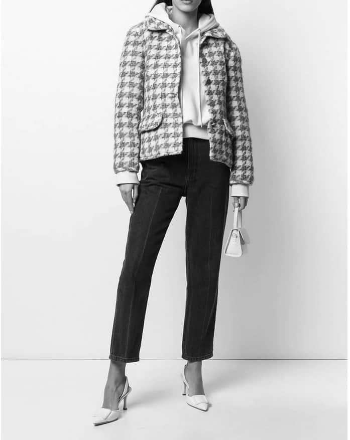 Chanel Jacquard Vintage Jacket 1998
