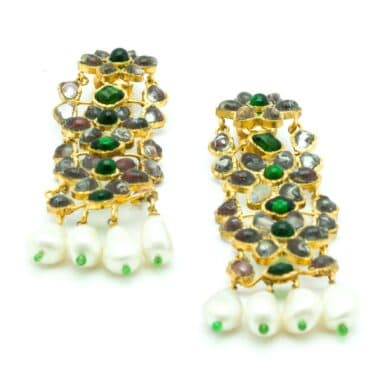 Exceptional Chanel Gripoix Vintage Earrings 1980