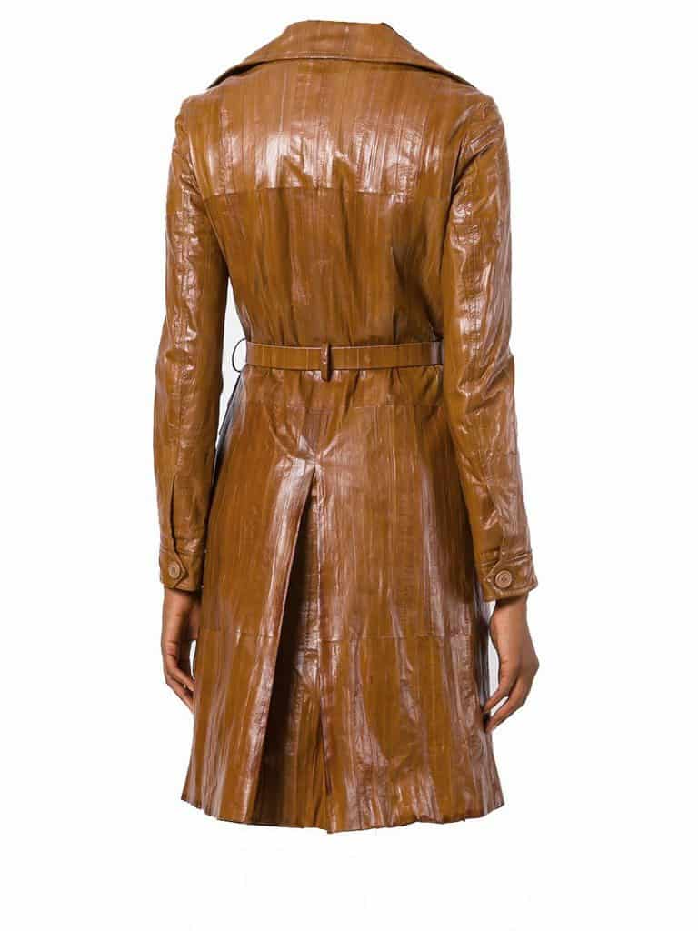 Christian Dior Collector Coat Eel Leather by Galliano