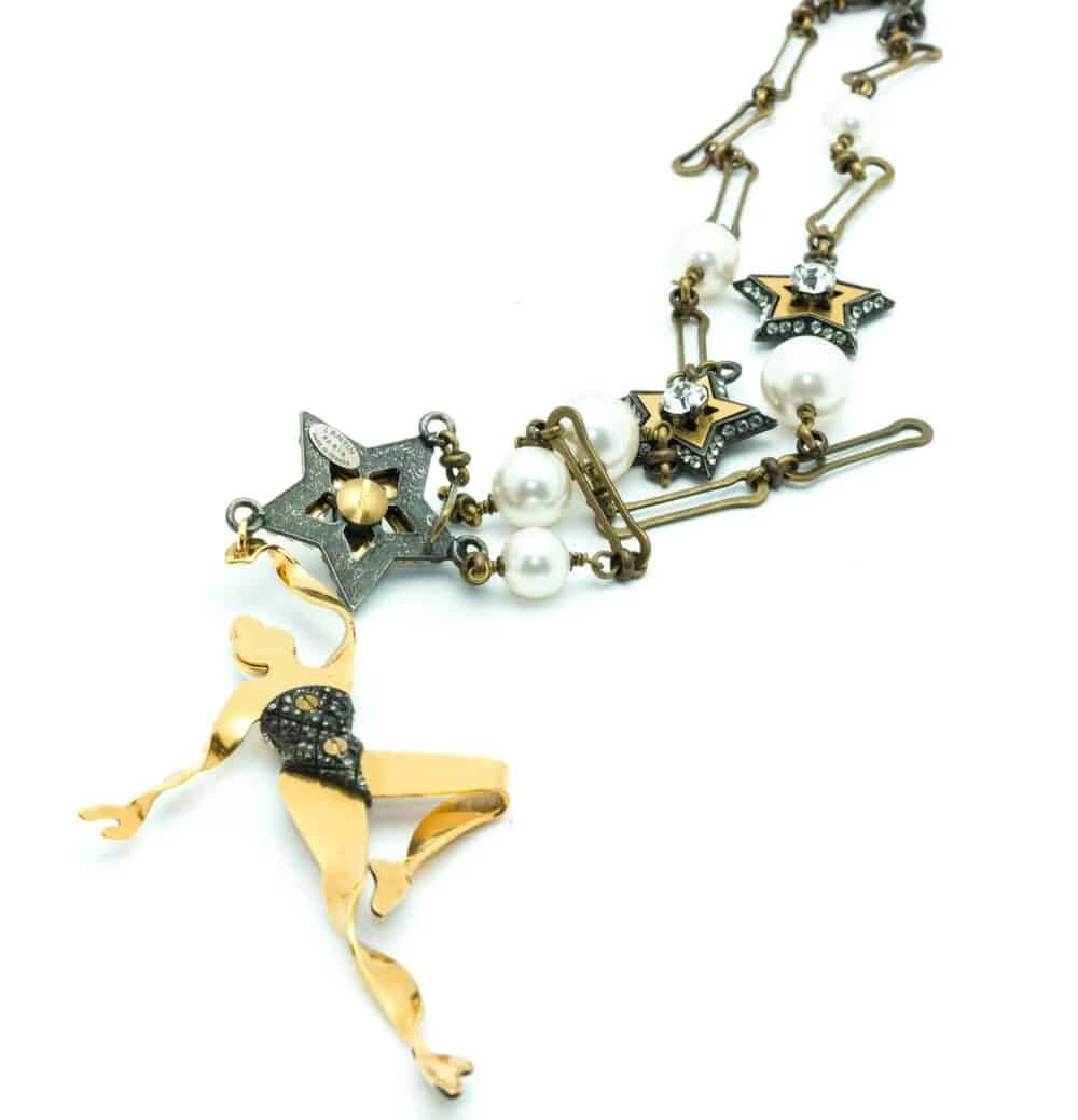 Lanvin Ballet Dancer Collector Necklace