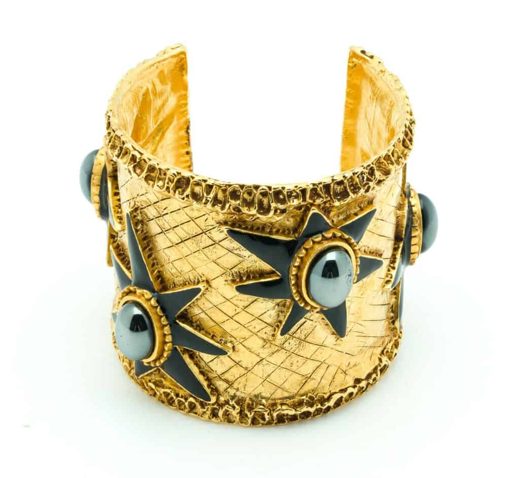 Christian Lacroix Vintage Stars Cuff 90s