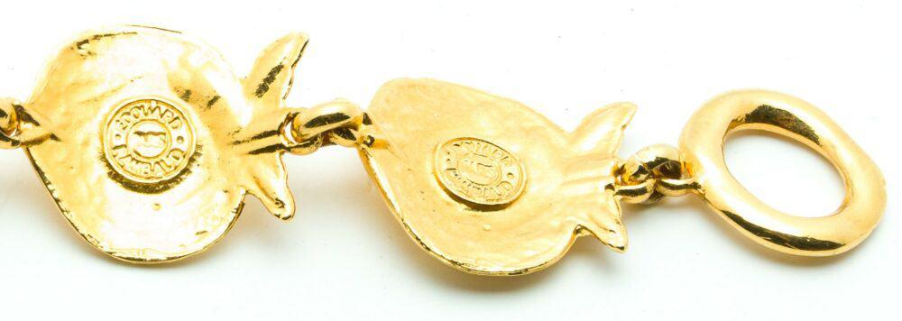 Edouard Rambaud Vintage Fish Necklace 80s