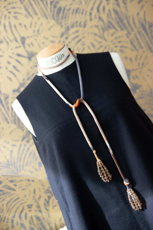 Emelio Pucci by Coppola e Toppo Vintage 60s Tie Necklace/belt