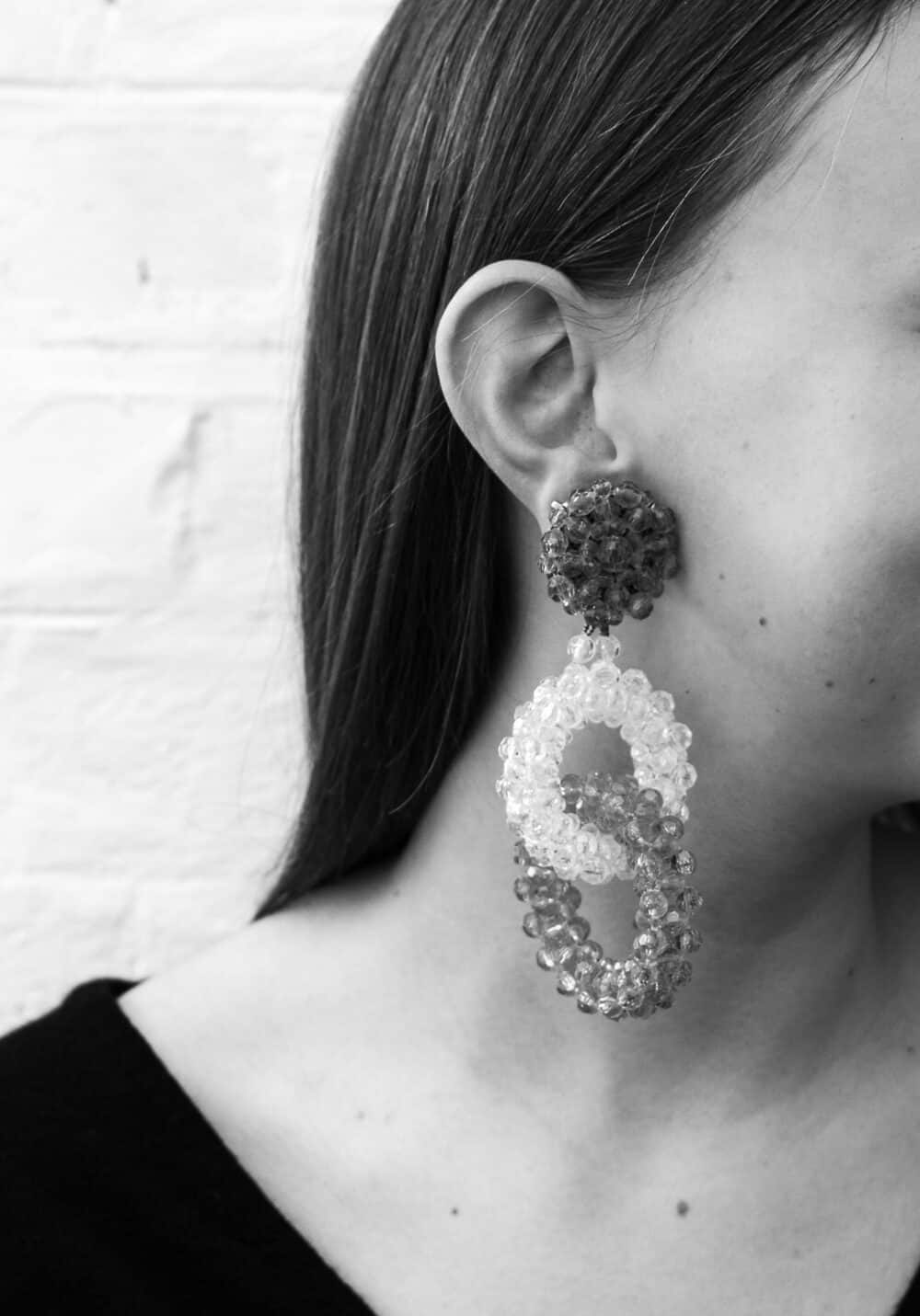 Exceptional Coppola e Toppo Vintage clip-on earrings c.1965