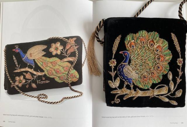 Gorgeous Evening vintage collector Bag published 70s