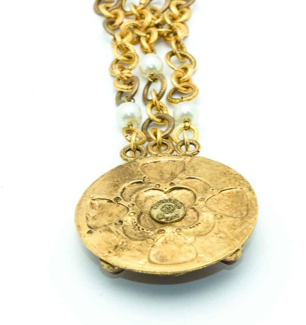 Chanel Rare vintage byzantine medaillon 1984