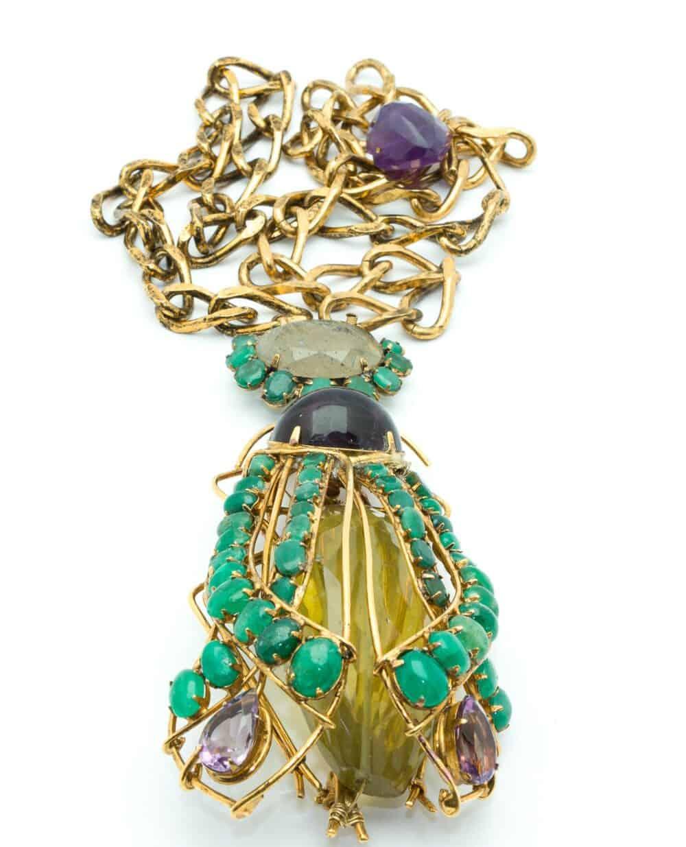 Iradij Moini Exceptional Bee Brooch/pendant
