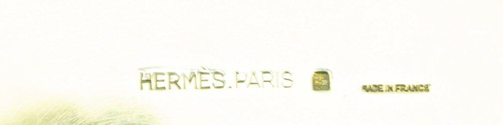Hermes vintage glass/candle horse holder 60s