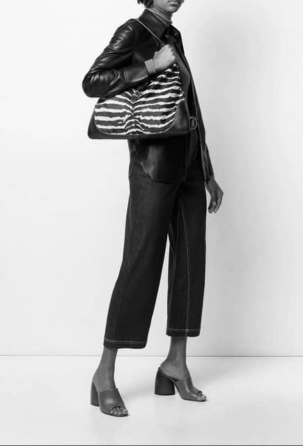 Gucci Zebra Collector Jackie O Handbag
