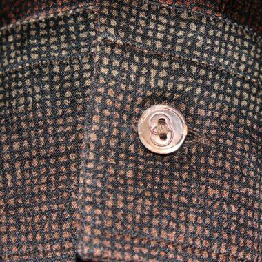 Gucci Fabulous Brown vintage Silk Shirt 70s