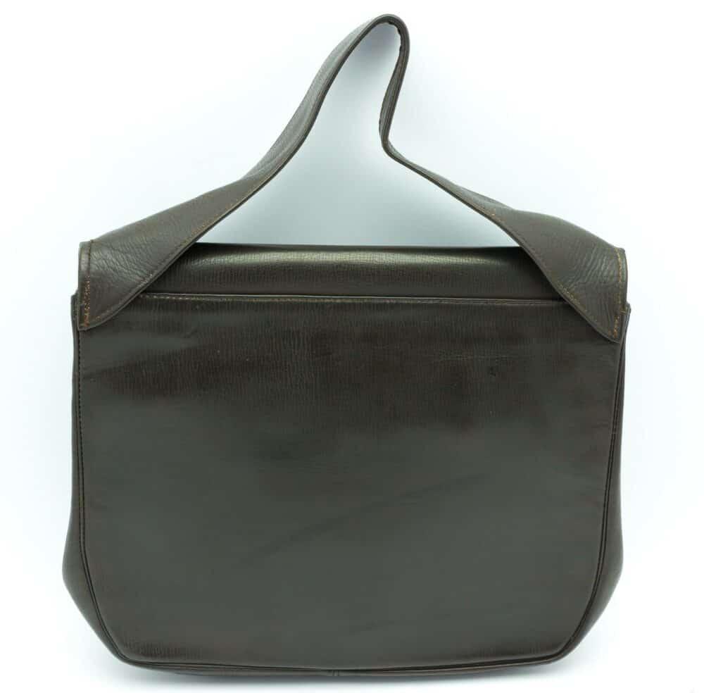 Unique Art Deco Chrome and Wood Handbag