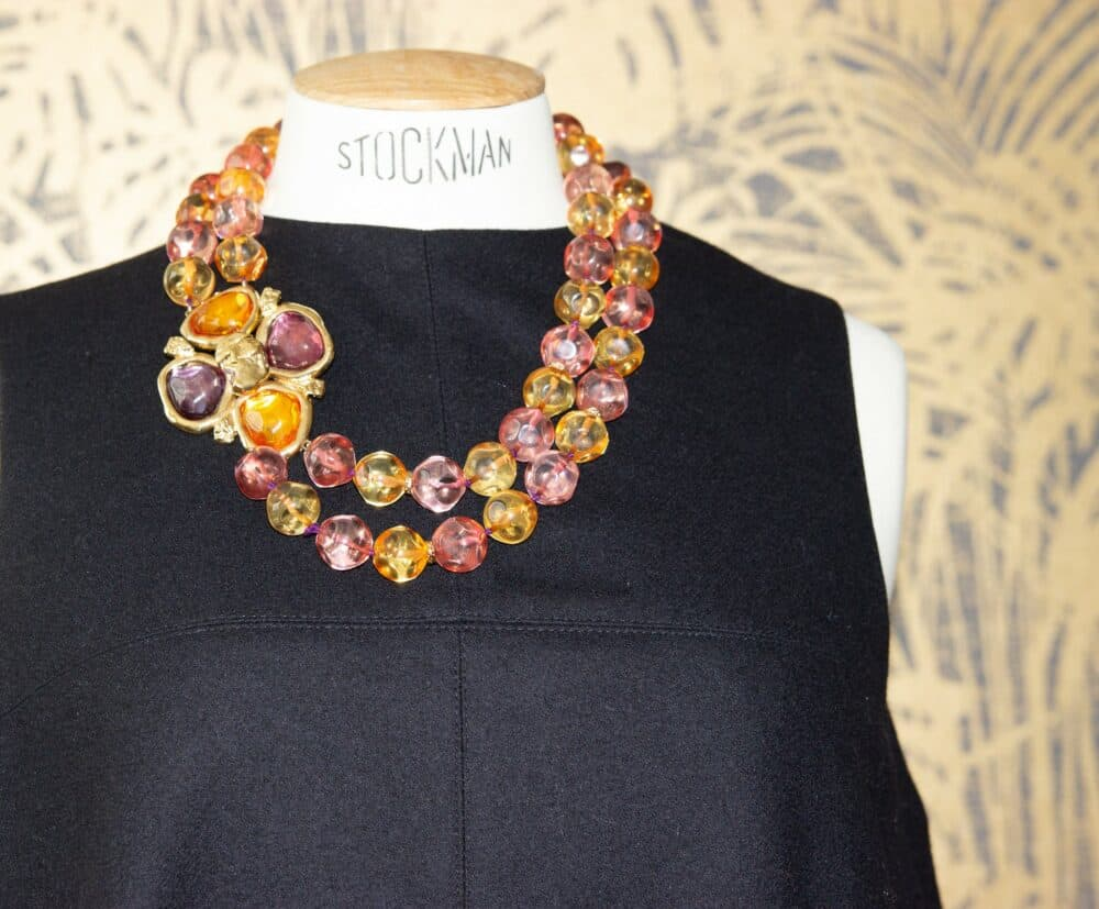 YSL Haute Couture Catwalk Necklace 1988 by Loulou