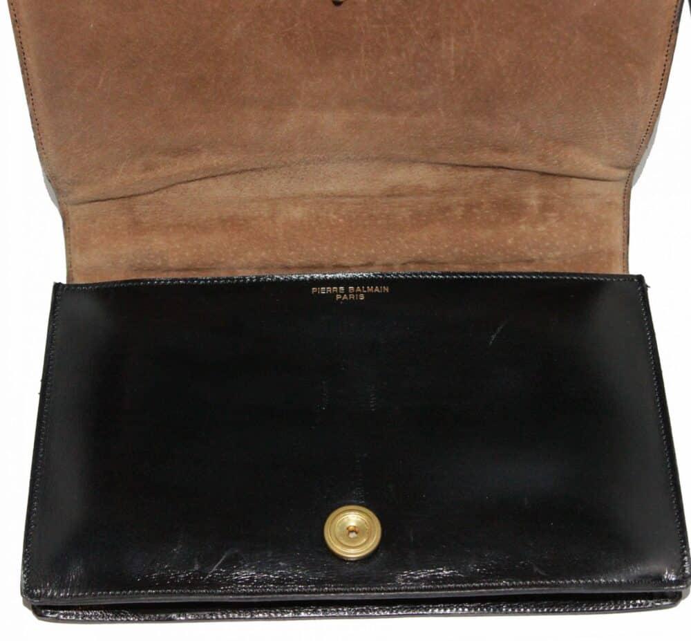 Pierre Balmain Paris Croco Vintage Bag 70s