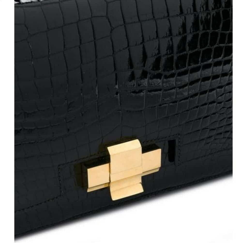 HERMES: Exceptional croco bag 60s rare vintage collector