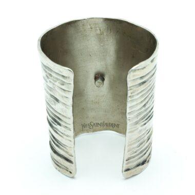 YSL rare vintage cuff with amethyst