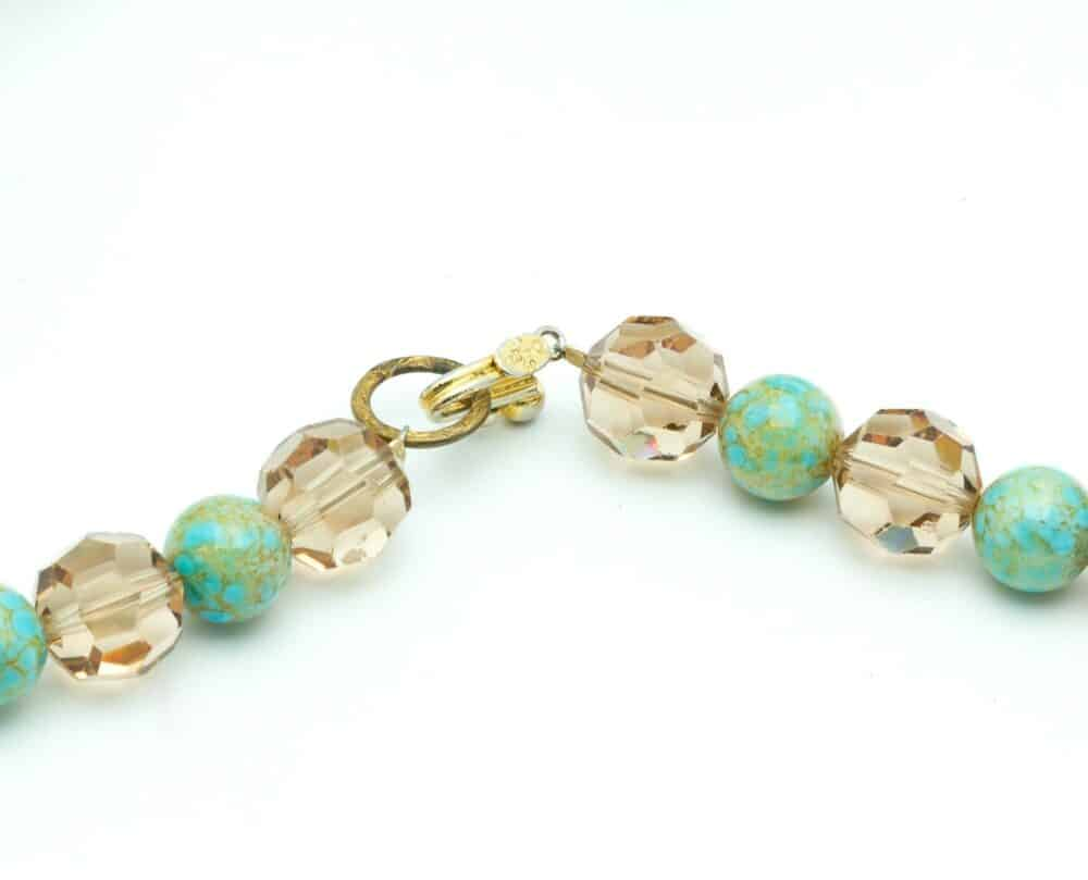 Christian Dior rare vintage necklace 1960