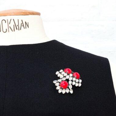 Roger Scemama Haute Couture Déposé vintage brooch 50s