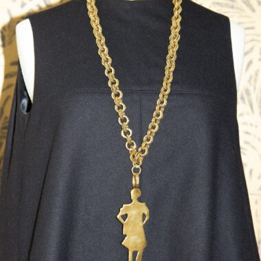 YSL collector necklace catwalk 2010