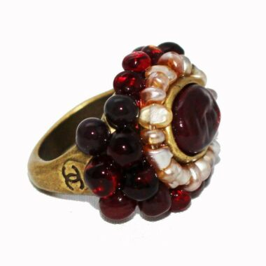 RARE CHANEL VINTAGE COLLECTOR RING 2000
