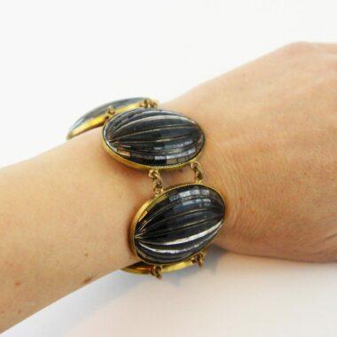 Yves Saint Laurent YSL Haute Couture 70s bracelet