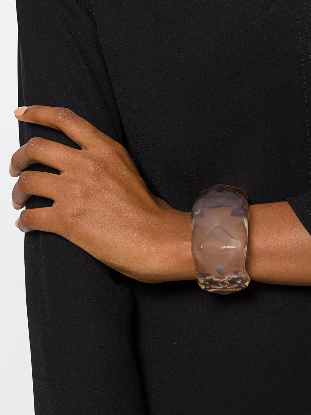 Chanel vintage ice resin bracelet cuff 2010