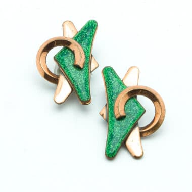 13-Matisse-green-enamel-copper-vintage-50s-earrings-clip-on-personal-shopper-vip-katheleys-2 (3)